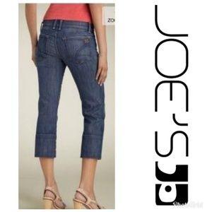 Joe's Jeans Socialite Kicker Crop